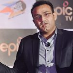 Virendra Sehwag during the launch of Television show